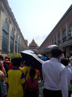 Crowded at Wat Phra Kaew