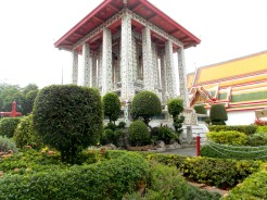 Gardens at Wat Arun