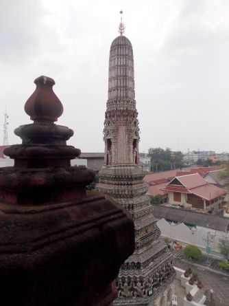 1st level view at Wat Arun