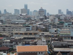 View into downtown Bangkok