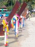 Long Boats on Kho Phi Phi