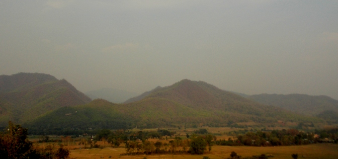 Mountains around Pai