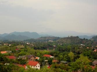 View of Luang Prabang