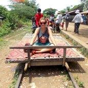 Bamboo Railroad - Battambang